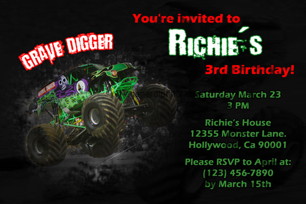 8 Images of Grave Digger Printable Gift Tags