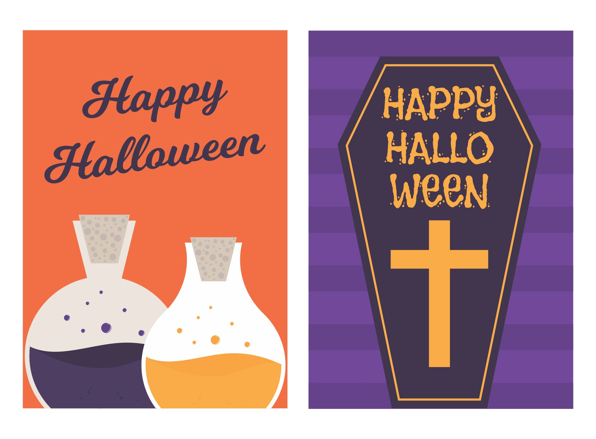 Download halloween greeting cards for pc windows and mac apk screenshot 1