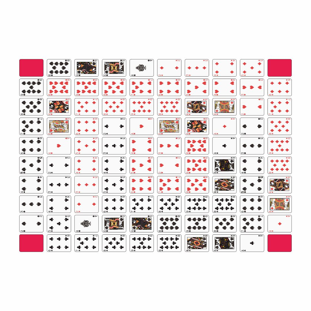 Make a Sequence Board Game