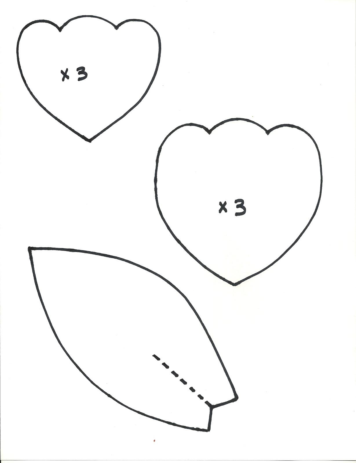 Flower Leaf Template Printable 6 best images of flower leaf template ...