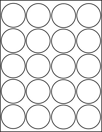 Printable 1 2 Inch Circle Template