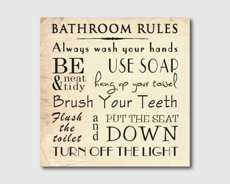 9 Images of Vintage Bathroom Art Printables