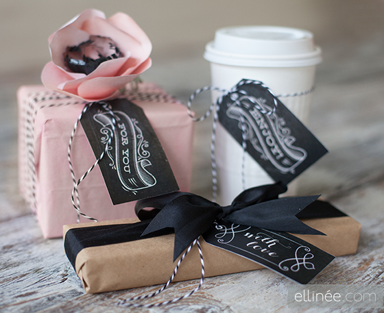 5 Images of Chalkboard Gift Tags Free Printable