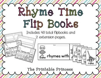5 Images of Printable Rhyming Books
