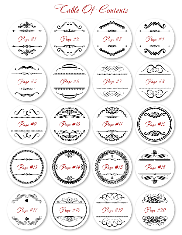 8 Images of Printable Round Labels 2