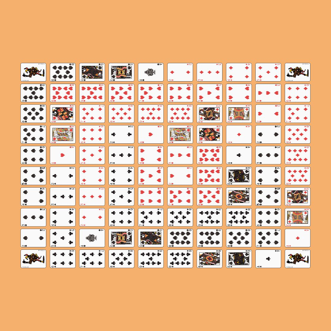Printable Sequence Board Game