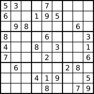 4 Images of Printable Sudoku Puzzles Game