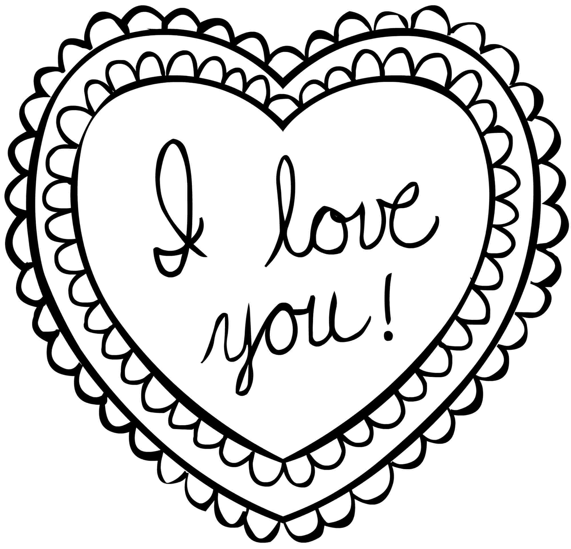 Valentine color by number printables - Printable Valentine S Day Coloring Page