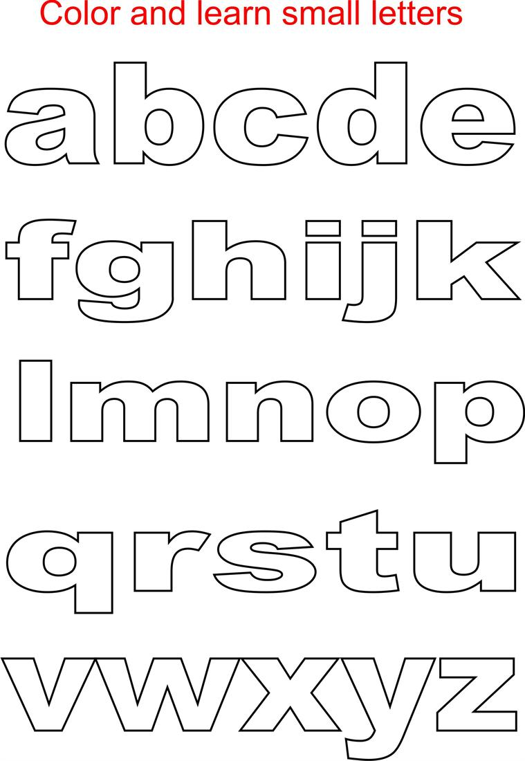 7 Images of Small Printable Letter I