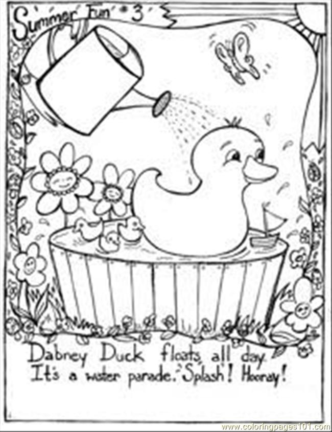 5 Images of Fun Coloring Printables
