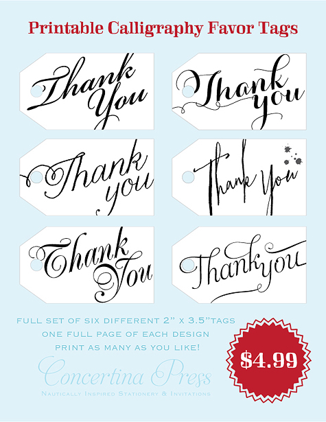 Wedding Thank-You Gift Tag Wording : ... Thank You Gift Tags Printable and Wedding Thank You Favor Tags Wording