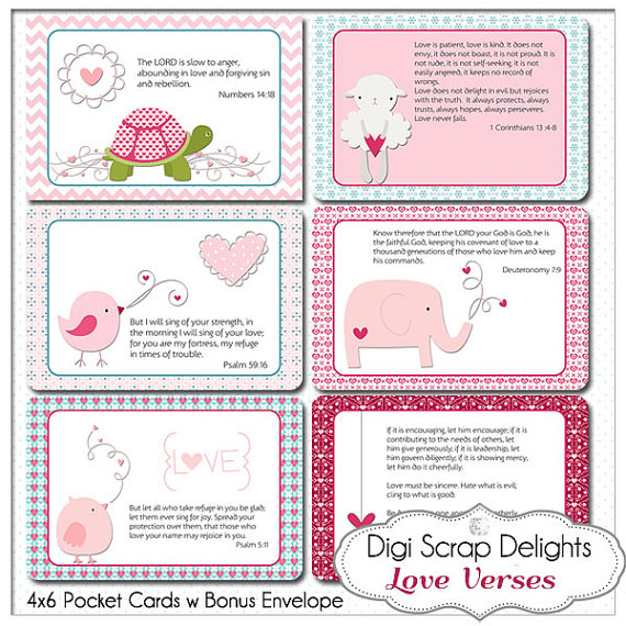 7 Images of Printable Love Bible Verses