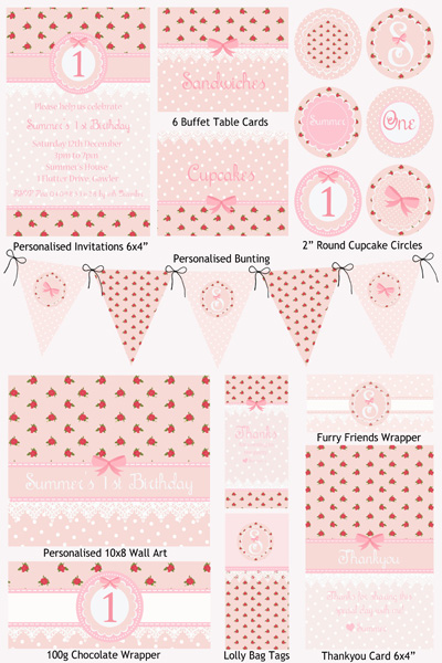 7 Images of Vintage Party Printables