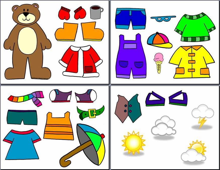 Weather Bear Dress Up
