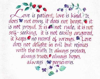 1 Corinthians 13 Commentary Love