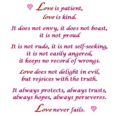1 Corinthians 13 Love Poems