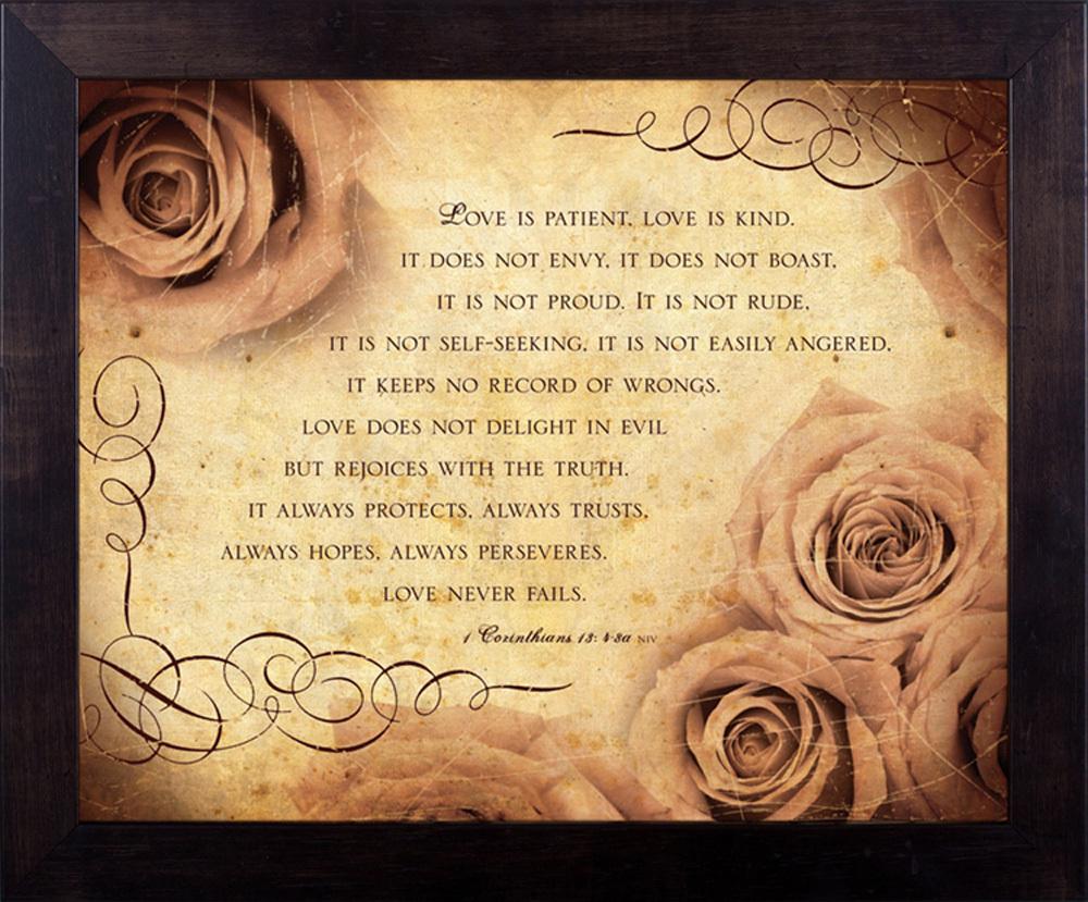 1 Corinthians 13 Love