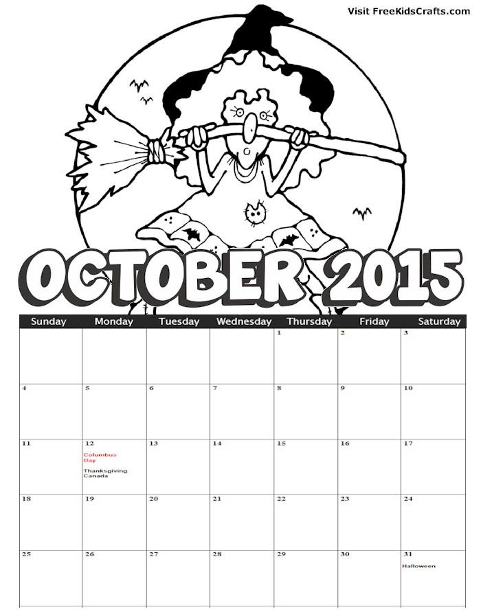 Kindergarten Calendar Sheets : Best images of october calendar printable preschool
