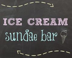 5 Images of Ice Cream Sundae Printables