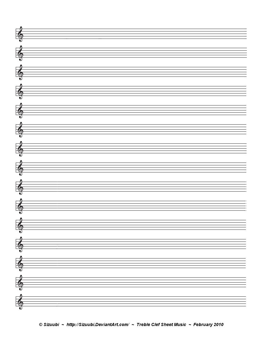 blank bass clef staff - photo #49