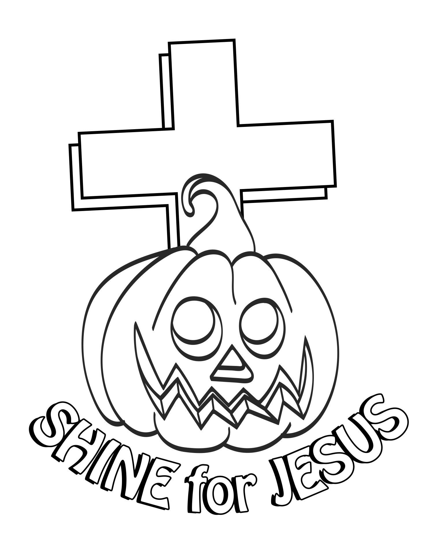 9 Best Images of Christian Halloween Printables ...