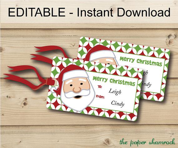 8 best images of christmas printable labels editable free printable editable christmas tags. Black Bedroom Furniture Sets. Home Design Ideas