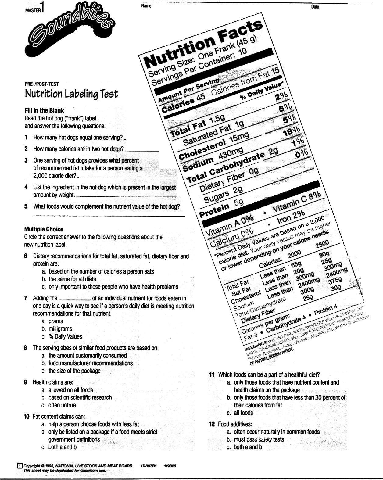 math worksheet : free printable nutrition worksheets  khayav : Math Worksheets For High School Free Printable