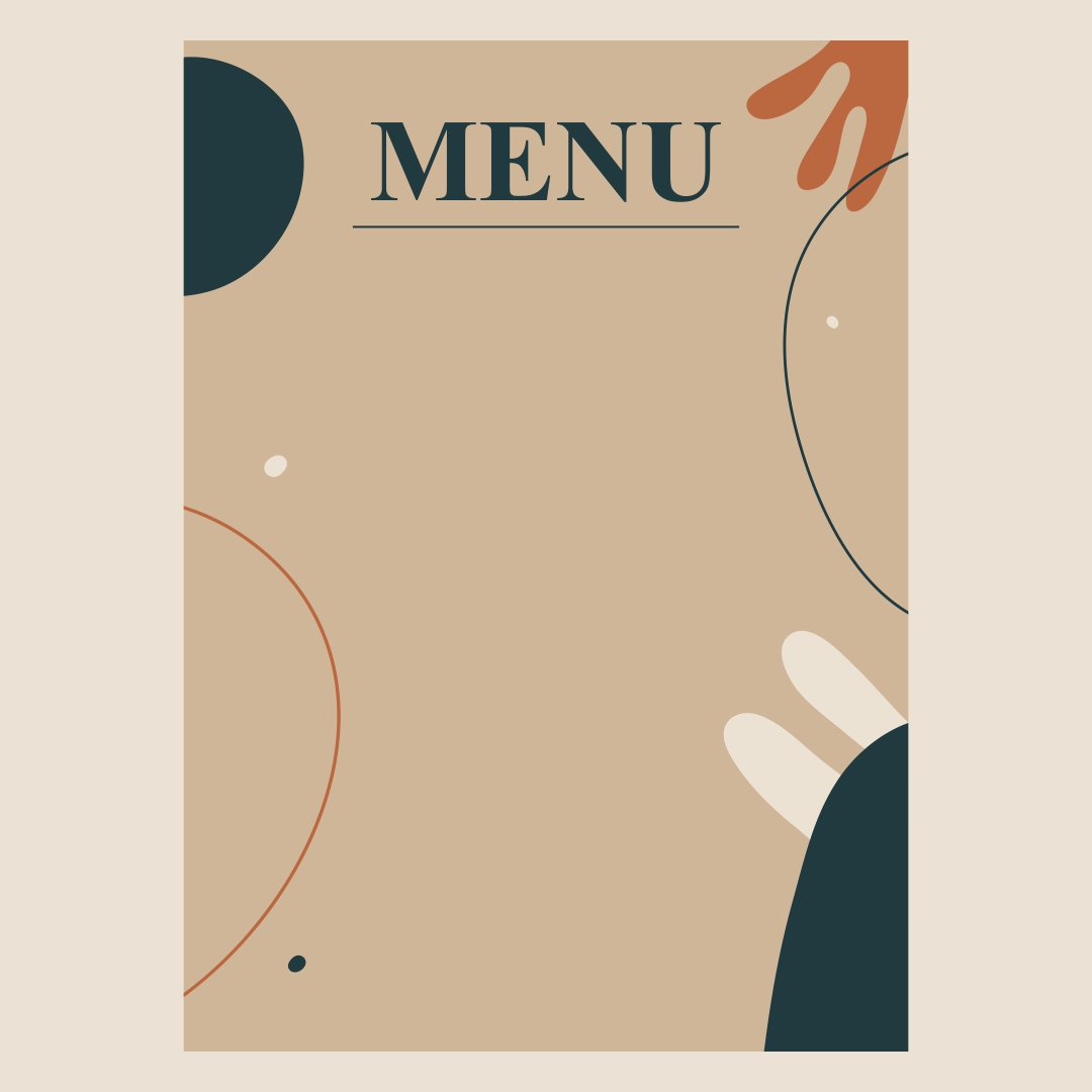 free restaurant menu templates for mac - 6 best images of printable blank restaurant menus free
