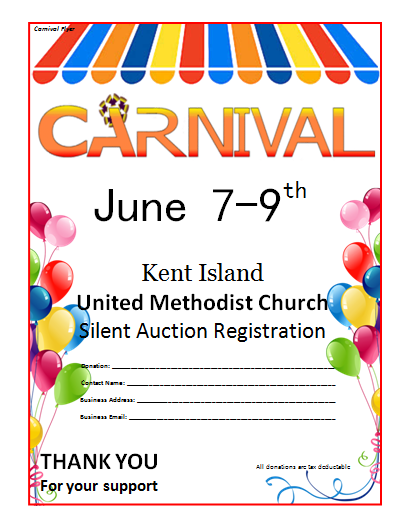 7 Images of Free Printable Carnival Flyers