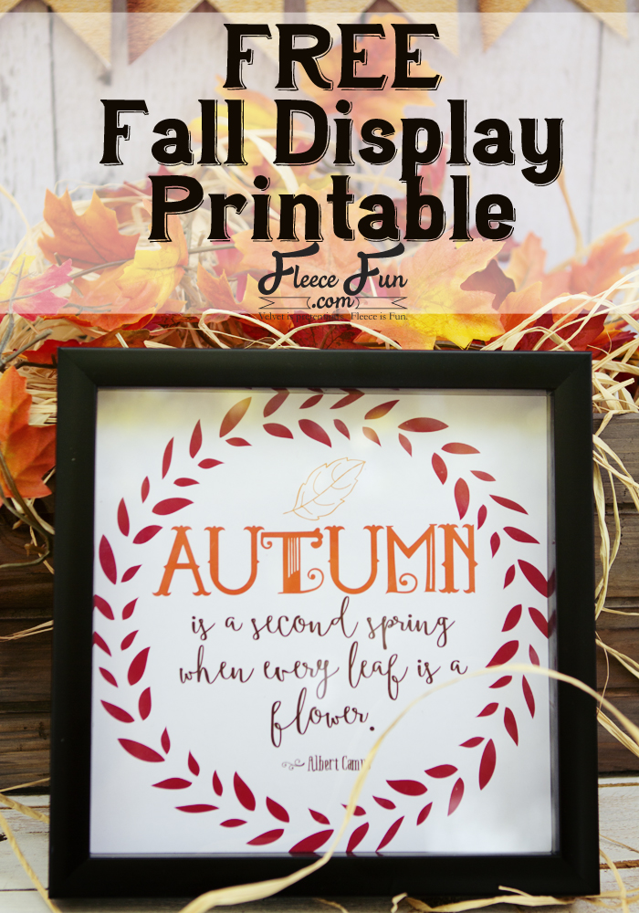 Free Fall Printable Quotes to Frame
