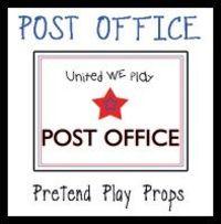 6 Images of Preschool Post Office Printables