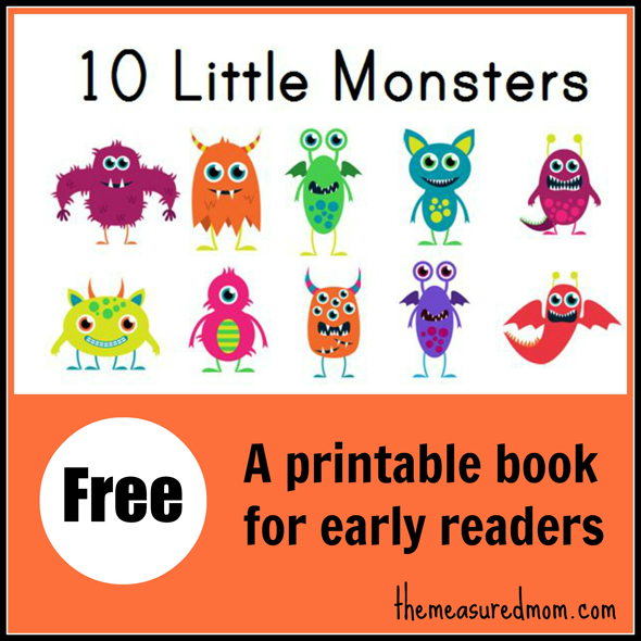 5 Images of Printable Kindergarten Reading Books