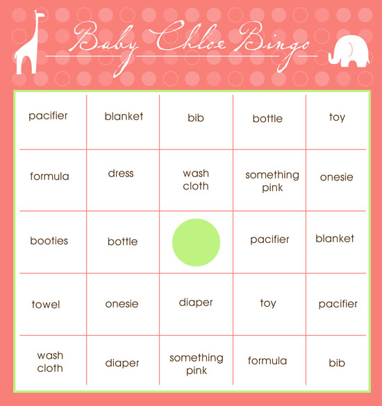 printable baby shower bingo cards free printable baby shower bingo