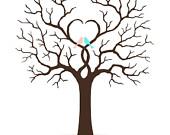 Printable Bare Tree Template