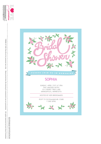 8 Images of 40th Birthday Invitations Printable And Editable