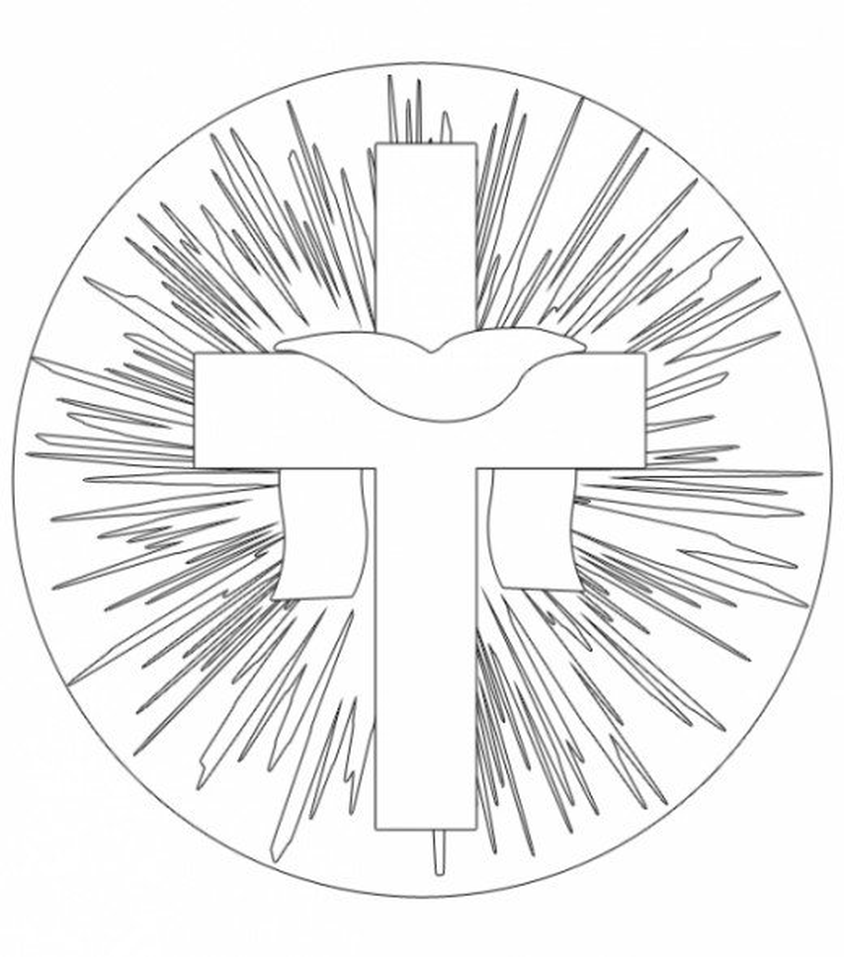 Free Printable Easter Crosses Clip Art