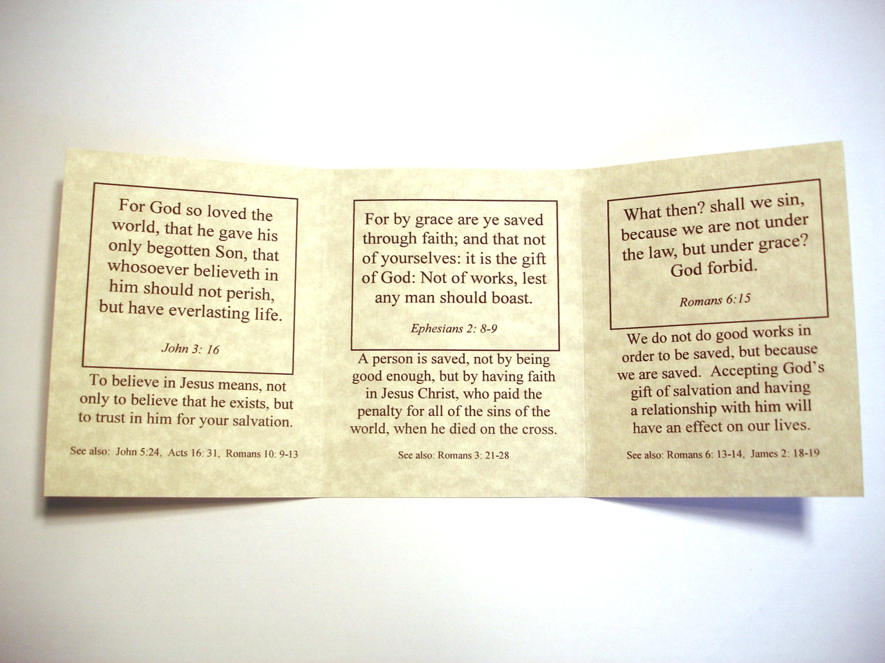 6 Images of Free Printable Christian Tracts