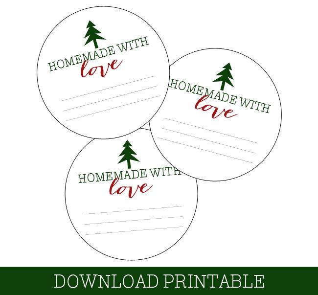 Free Printable Mason Jar Christmas Labels