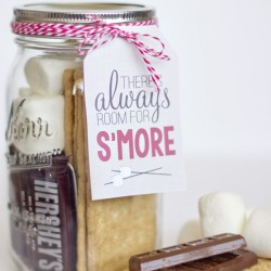6 Images of Free Printable S'mores Gift Tag