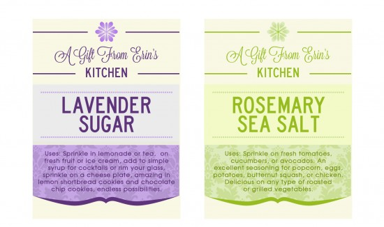 4 Images of Lavender Tags Printable Editable