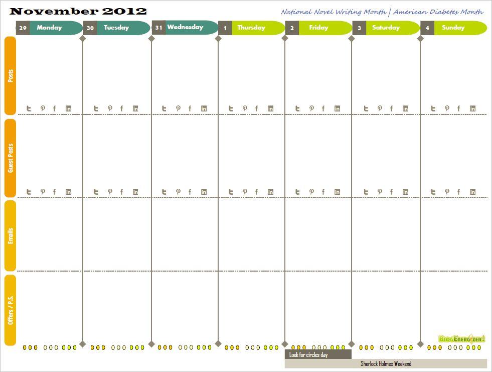 2013 week calendar