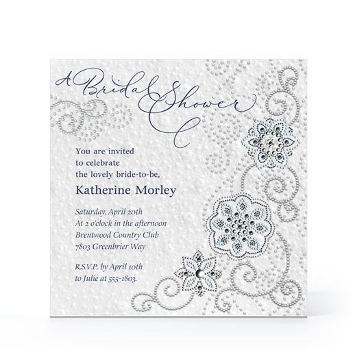 Hallmark Cards Bridal Shower Invitations