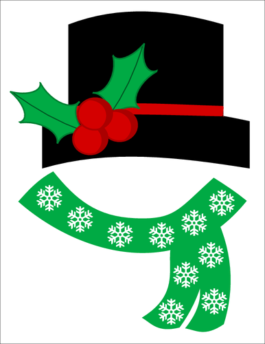5 Images of Frosty Snowman Hat Printables
