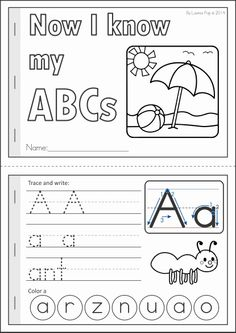4 Images of Summer Activities Booklet Printable