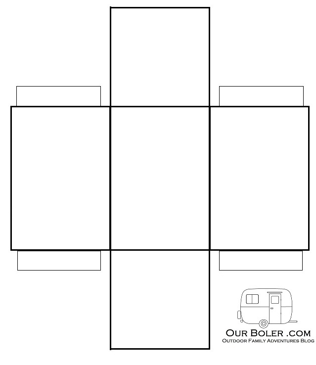 5 Images of Rectangle Box Template Printable