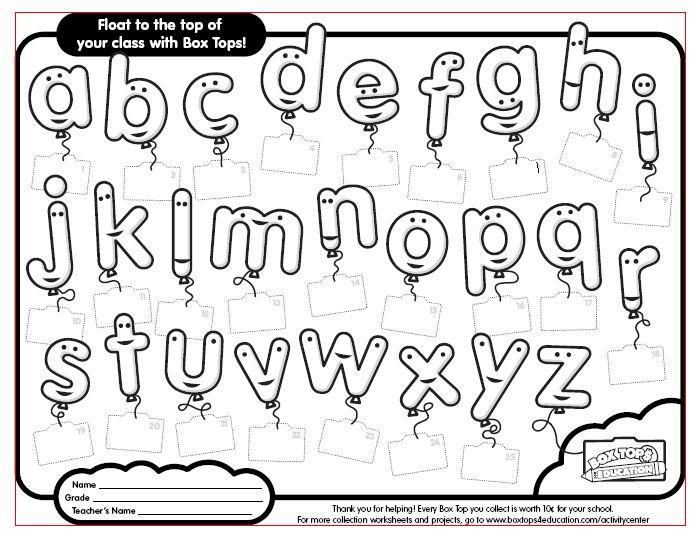 8 Images of Box Tops For Education Printable Sheets