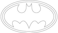 5 Images of Printable Batman Logo Long Banner