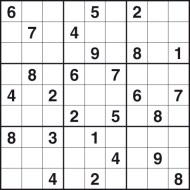 4 Images of Challenging Sudoku Puzzles Printable