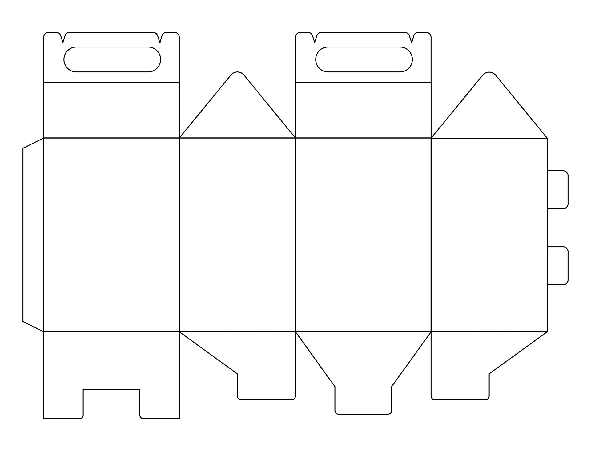Printable Paper Box Templates