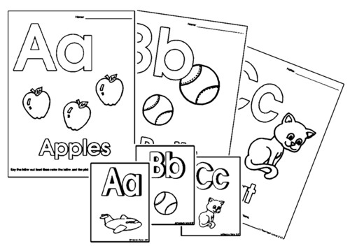 4 Images of Preschool Printable Alphabet Letters